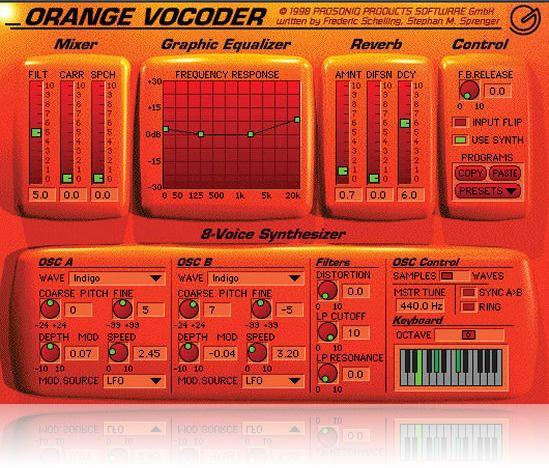 JRRshop com | Prosoniq Orange Vocoder - Native