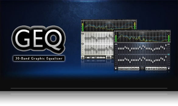 JRRshop com | Waves GEQ 30-Band Graphic Equalizer