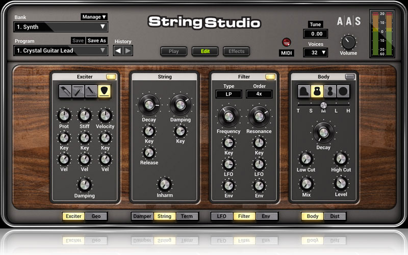 String Studio VS-2 + Harmonic Geometry Bundle