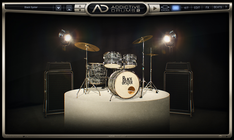 JRRshop com | XLN Audio Addictive Drums 2: Black Oyster