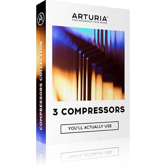 Arturia 3 Compressors Bundle eDelivery JRR Shop