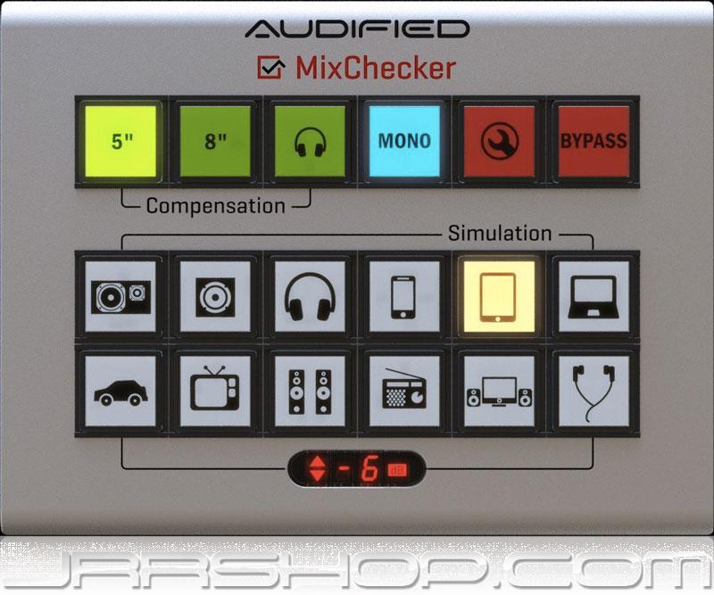 Audified MixChecker eDelivery JRR Shop