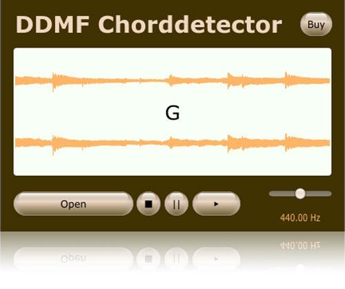 JRRshop com | DDMF Chorddetector Automatic Chord Detection