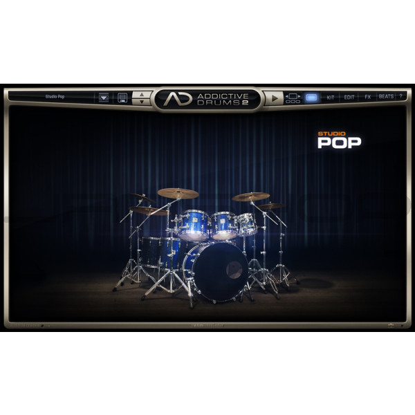 JRRshop com | XLN Audio Addictive Drums 2: Studio Pop