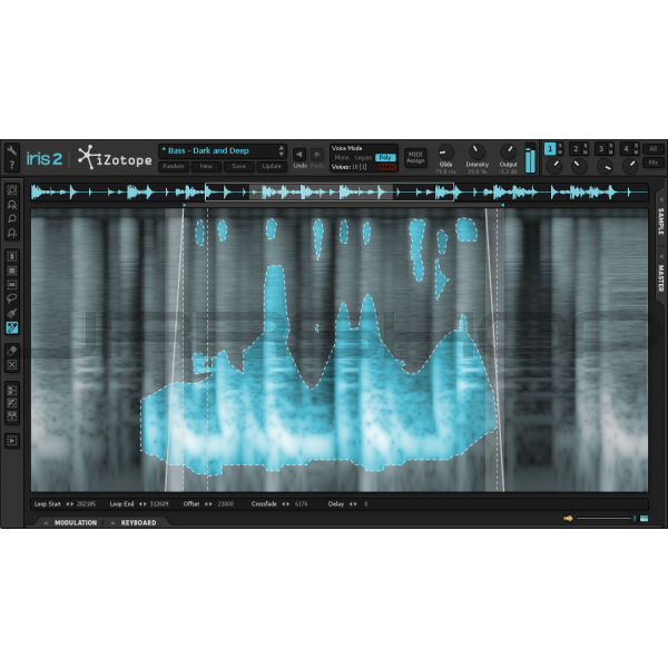 JRRshop com | iZotope Iris Spectral Synthesizer - Download