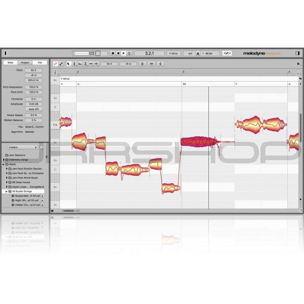 Celemony Melodyne 5 Assistent Upgrade Von Essential Software Download