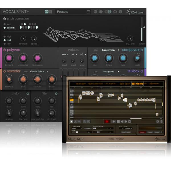 JRRshop com | iZotope Nectar 2 Production Suite + VocalSynth