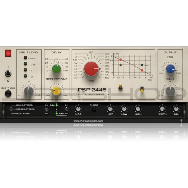 JRRshop com | PSP 2445 EMT Reverb Plugin