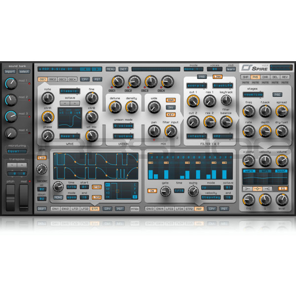 JRRshop com   Reveal Sound Spire Synthesizer Plugin