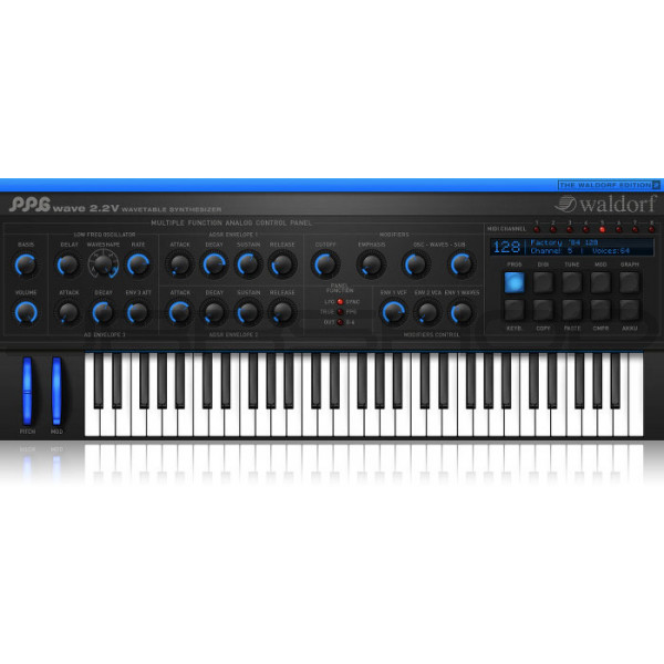Waldorf The Waldorf Edition 2 Softsynth Bundle eDelivery JRR Shop