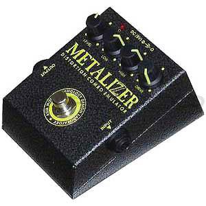 AMT Electronics Metalizer Distortion Combo Emulator Pedal