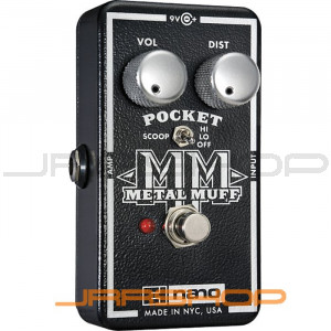 Electro Harmonix Pocket Metal Muff Distortion Pedal with Mid Scoop
