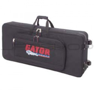 Gator GK-61 61 Key Lightweight Keyboard Case on Wheels
