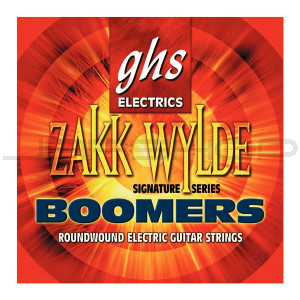 GHS Zakk Wylde Boomers 10-Set Guitar Strings