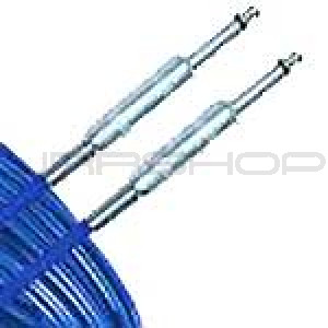 "Hosa ISC-118BLU 1/4"" Phone Blue Instrument Cable 18 ft."