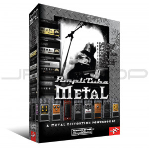 IK Multimedia Amplitube Metal - Download License