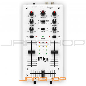 IK Multimedia iRig MIX DJ-Style Mixer for IOS Devices