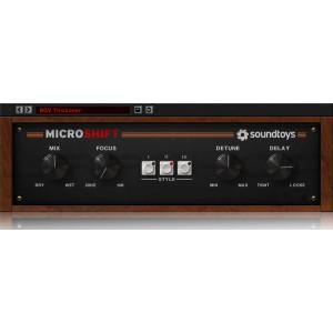 JRRshop com | Soundtoys MicroShift Make It Wide Classic Stereo