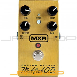 Dunlop MXR M77 Custom Badass Modified O.D.