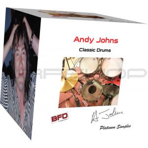 JRRshop com | Platinum Samples Andy Johns Classic Drums for BFD