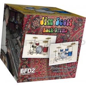 JRRshop com   Platinum Samples Jim Scott Rock Drums Vol 1 for BFD