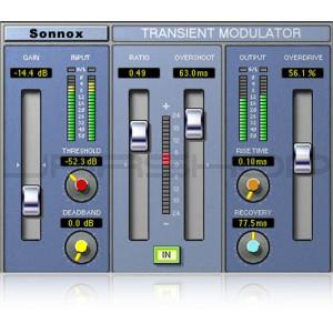 Sonnox Sony Oxford Transient Modulator TDM - Download License