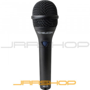 TC Electronic TC-Helicon MP-75 Dynamic Vocal Mic w/ Helicon Control Switch