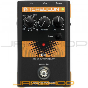 TC Electronic TC-Helicon VoiceTone Single E1 Echo & Tap Delay