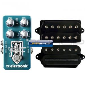 """""""Petrucci Signature Tone Kit"""" TC Dreamscape + DiMarzio LiquiFire & CrunchLab"""
