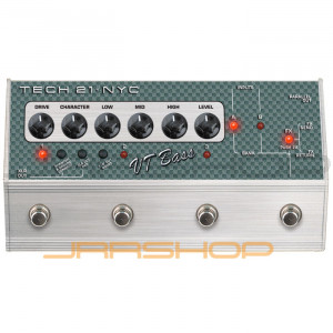 Tech 21 VT Bass Deluxe SansAmp Character Series Bass Pedal