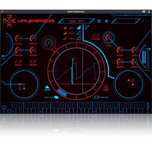 JRRshop com | Tracktion MOK Waverazor Futuristic Virtual Synth