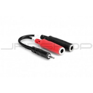 Hosa YMP-137 Stereo Breakout 3.5 mm TRS to Dual 1//4 in TSF New JRR Shop