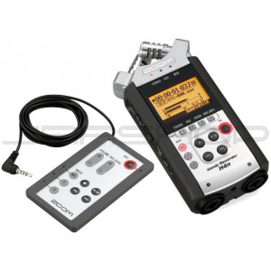 Zoom H4n Handy Recorder & RC4 Remote Control