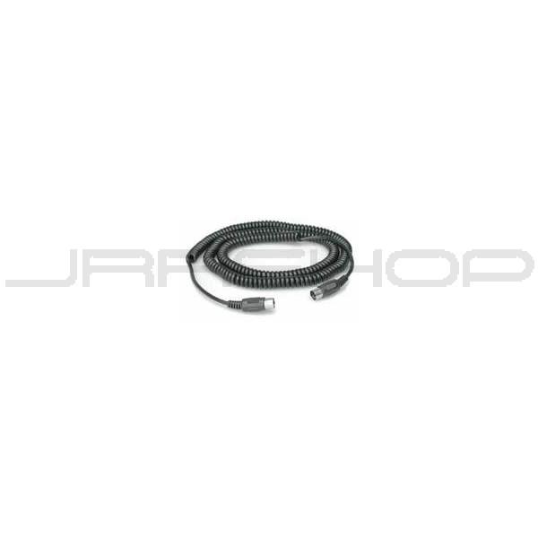 JRRshop com | Hosa MID-325C Coiled MIDI Cable 25 ft