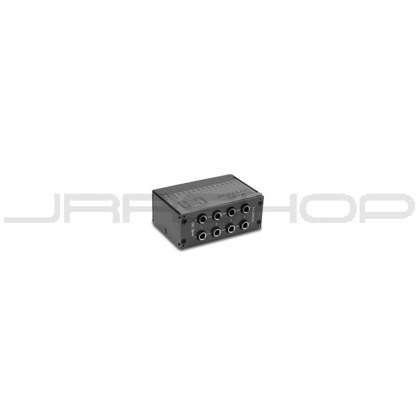 Hosa MHB-350 Patch Bay Module 8-Point 1//4 in TRS to Same Half-Normalled