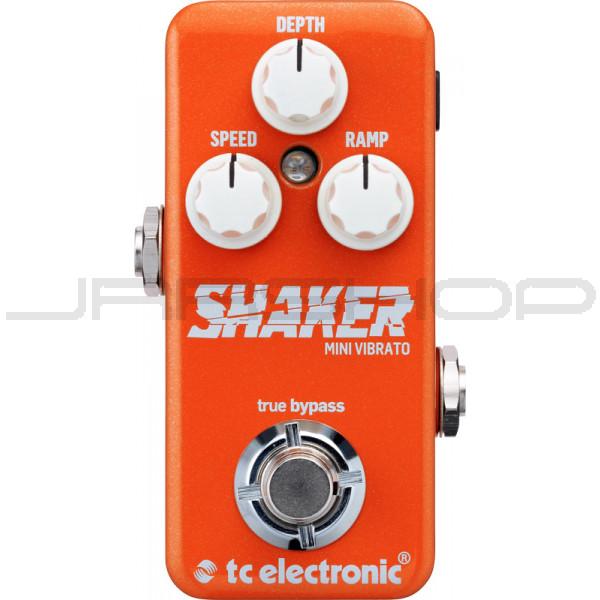 Open Box New w// Warranty TC Electronic Shaker Mini Vibrato Pedal JRR Shop