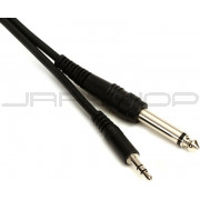 "Hosa CMP-110 Stereo 3.5mm (M) to Unbalanced 1/4"" (M) 10 ft."