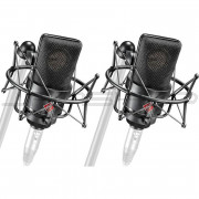 Neumann TLM 103 MT ST Pair Set EA 1 Shock Mount and Woodbox