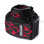 Dunlop Strap D38-11RD STRAP FLAMBE-RED-EA