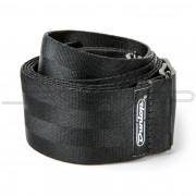 Dunlop Strap DST70-01BK DELUXE SEATBELT STRAP BLACK-EA