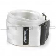 Dunlop Strap DST70-01WH DELUXE SEATBELT STRAP WHITE-EA