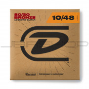 Dunlop Acoustic 80/20 Bronze String Set DAB1048 AG-BRS 10/48-6/SET