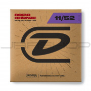 Dunlop Acoustic 80/20 Bronze String Set DAB1152 AG-BRS 11/52-6/SET