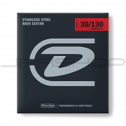 Dunlop Bass Stainless Steel Taper String Set DBS30130T BASS-SS 30/130T-6/SET