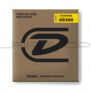 Dunlop Bass Flatwound Long Scale String Set DBFS40100 BASS FLATWND LG SCALE 40/100-4/SET