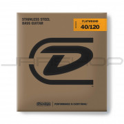 Dunlop Bass Flatwound Long Scale String Set DBFS40120 BASS FLATWND LG SCALE 40/120-5/SET
