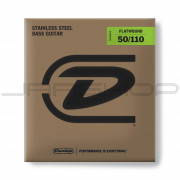 Dunlop Bass Flatwound Long Scale String Set DBFS50110 BASS FLATWND LG SCALE 50/110-4/SET