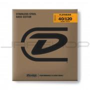 Dunlop Bass Flatwound Short Scale String Set DBFS40120S BASS FLATWND SH SCALE 40/120-5/SET