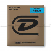 Dunlop Bass Flatwound Short Scale String Set DBFS45125S BASS FLATWND SH SCALE 45/125-5/SET