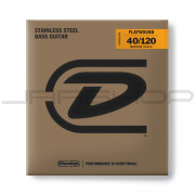 Dunlop Bass Flatwound Medium Scale String Set DBFS40120M BASS FLATWND MD SCALE 40/120-5/SET